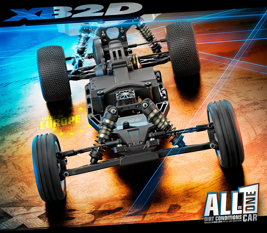 XRAY XB2D'19 2WD Off-Road Buggy