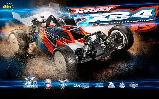 XRAY XB4 2019 1/10 4wd Buggy