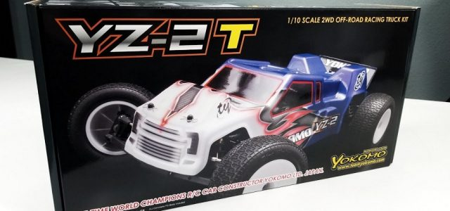 Yokomo YZ-2T 1/10 Stadium Truck Kit Unboxing [VIDEO]