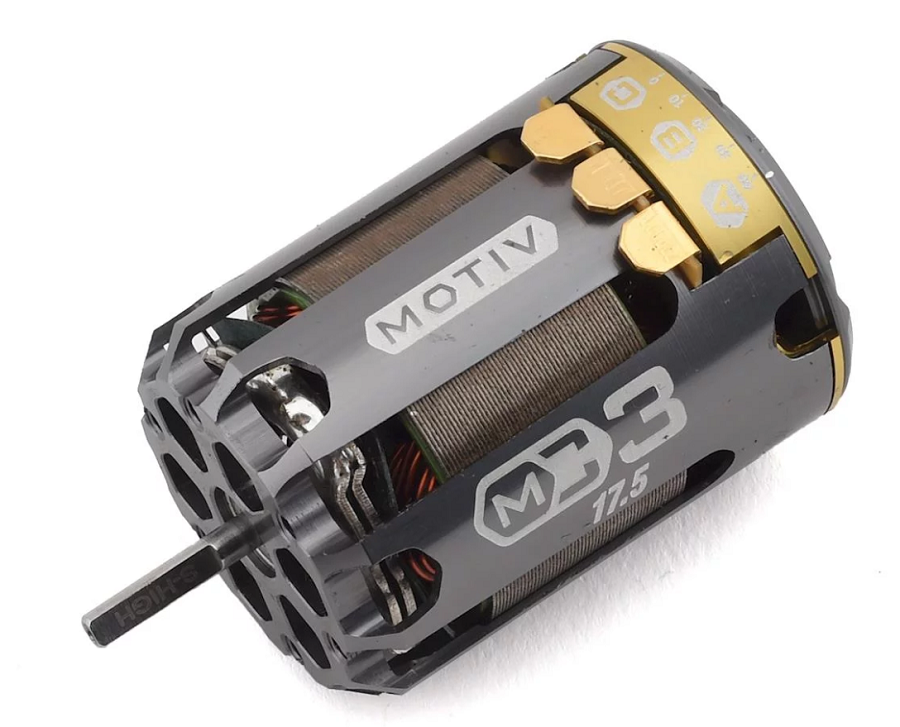 "Motiv M-CODE ""MC3"" Pro Tuned 17.5T Spec Brushless Motor"