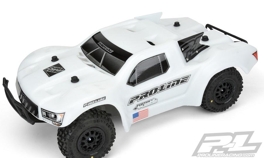 Pro-Line Pre-Cut Flo-Tek Fusion Bash Armor White Body