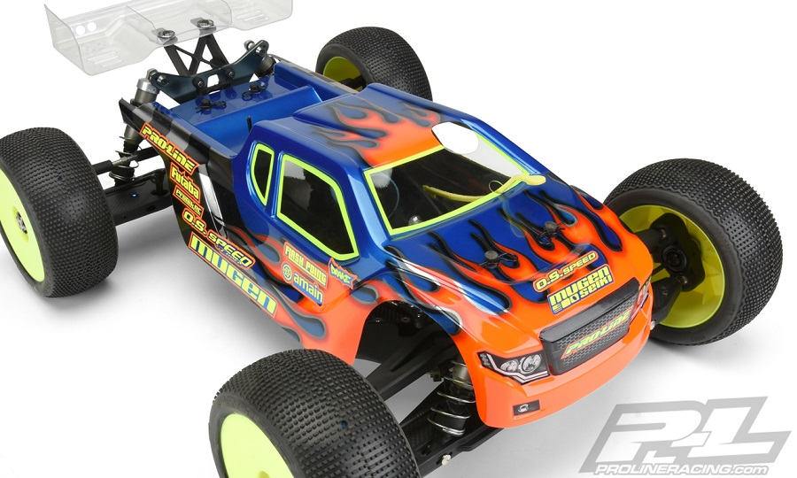 Pro-Line Night Hawk Clear Body For The Mugen MBX8T