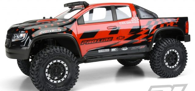 Pro-Line Chevy Colorado ZR2 Clear Body
