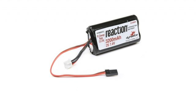 dynamite rc 7 4v 3200mah li-ion receiver pack