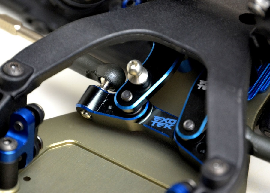 Exotek Two Color Steering Rack For The B6.1, T6.1 & SC6.1