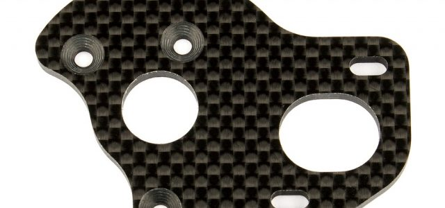 Factory Team Laydown/Layback Graphite Motor Plate For The 6.1 Series