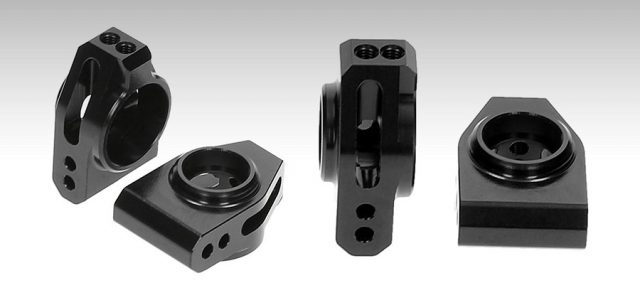 HB Racing Aluminum Rear Hubs For The D418