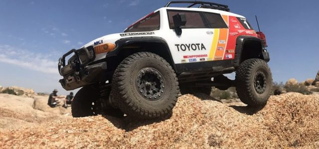 HPI Toyota FJ Cruiser Clear Body