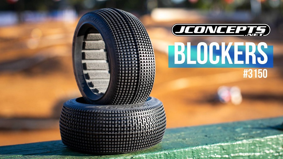 JConcepts Debuts New Blockers 1/8 Buggy Tires At 2018 Worlds