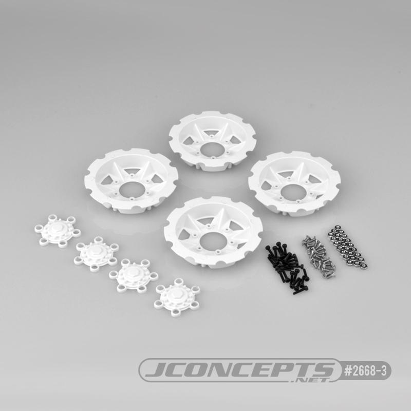JConcepts Tracker Wheel Discs For Dragon Wheels