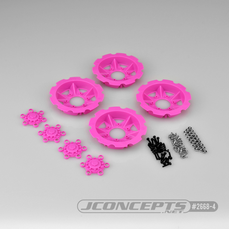 JConcepts Tracker Wheel Discs For Dragon Wheels