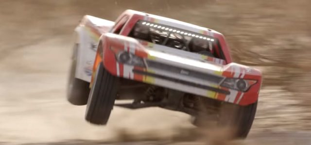 Watch The Losi Super Baja Rey Take a Beating [VIDEO]