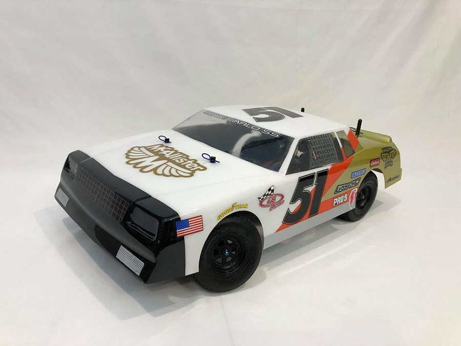 "McAllister ""Fat Boy"" '80s Monte Carlo Street Stock Clear Body"