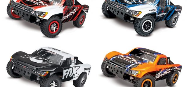 New Body Paint Schemes For The Traxxas Slash 4X4 VXL