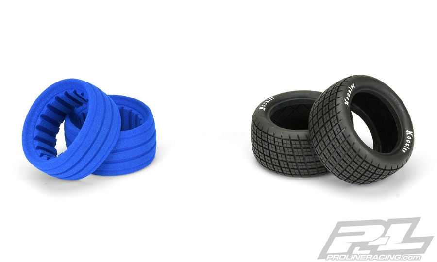 """Pro-Line Hoosier Angle Block 2.2"""" Off-Road Buggy Rear Tires"""