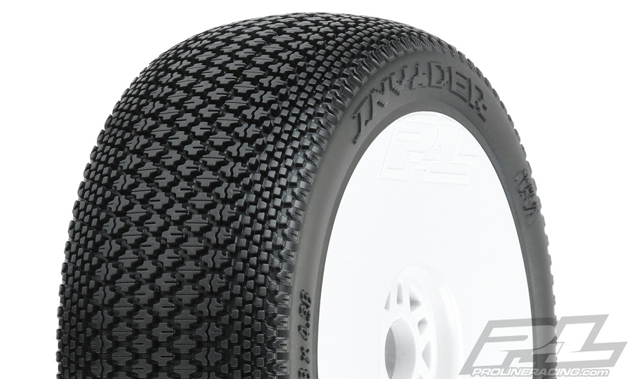 Pro-Line Pre-Mounted Invader Off-Road 1:8 Buggy Tires