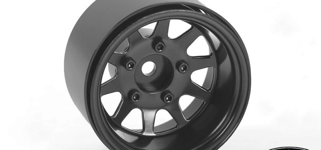 RC4WD Deep Dish Wagon 1.55″ Stamped Steel Beadlock Wheels (Black)