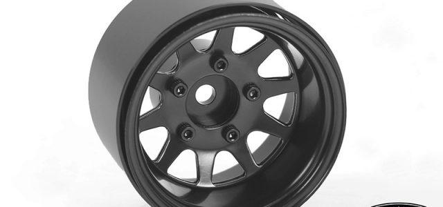 RC4WD Deep Dish Wagon 1.55″ Stamped Steel Beadlock Wheels (Black)