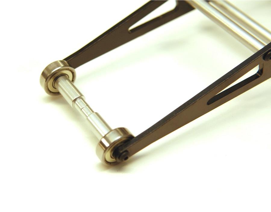 STRC Aluminum Ladder Frame Wheelie Bar Kit For The Traxxas 2WD Slash, Rustler & Bandit
