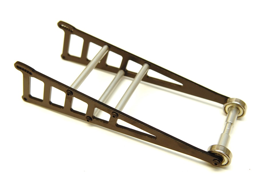 STRC Aluminum Ladder Frame Wheelie Bar Kit For The Traxxas 2WD Slash, Rustler & Bandit