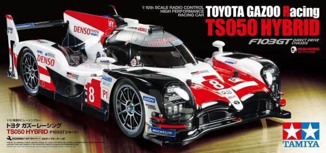 Tamiya Toyota GAZO Racing TS050 Hybrid (F103GT)