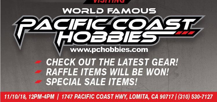 Vendor Day At Pacific Coast Hobbies This Saturday