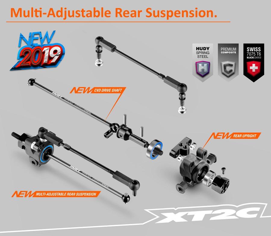 XRAY XT2C 2019 Stadium Truck
