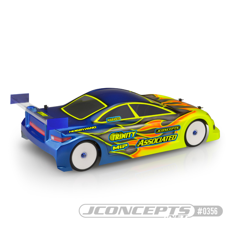 "JConcepts A1R ""A1 Racer"" 190mm Touring Car Clear Body"