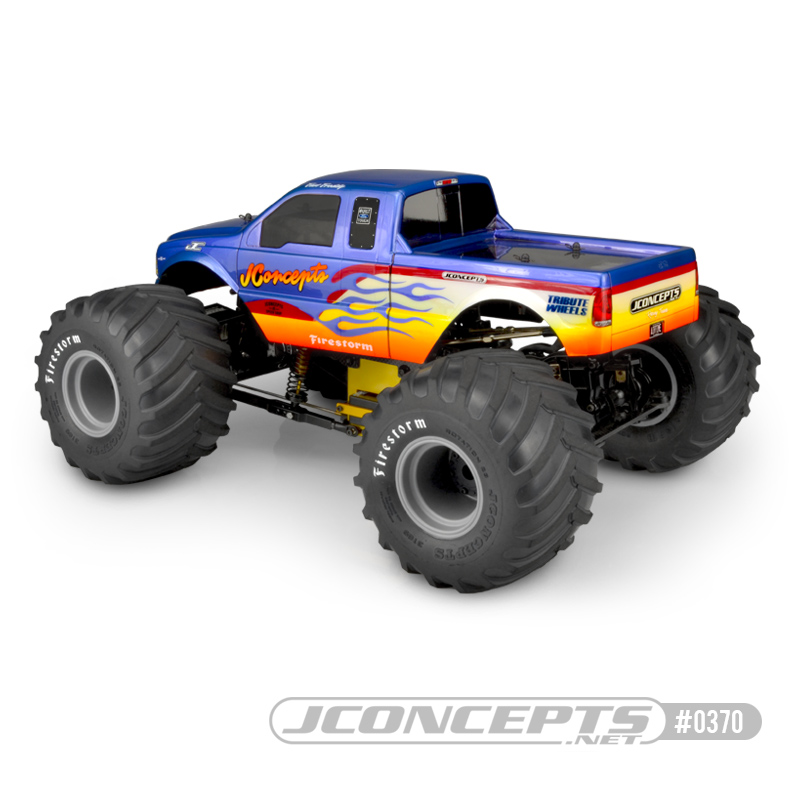 JConcepts 2005 Ford F-250 Super Duty Clear Body
