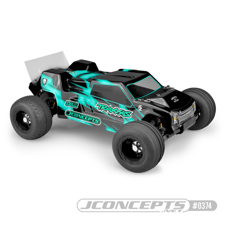 JConcepts F2 Rustler VXL Clear Body