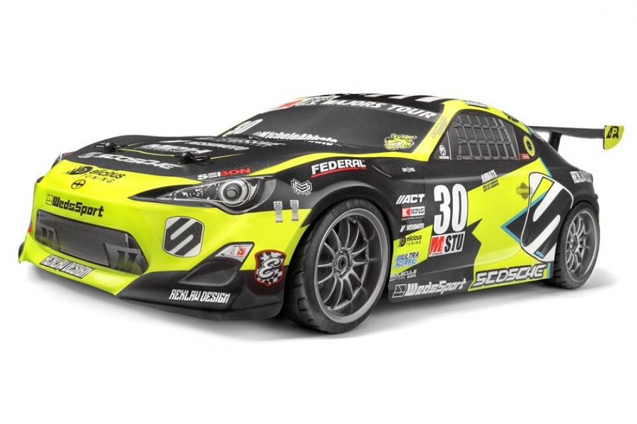 HPI E10 Abbate GRRRacing Touring Car