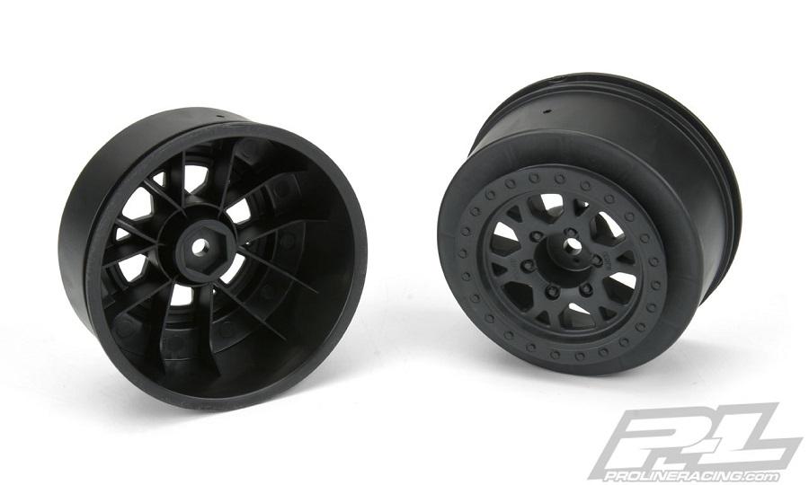 Pro-Line Impulse Black Short Course Truck Wheels