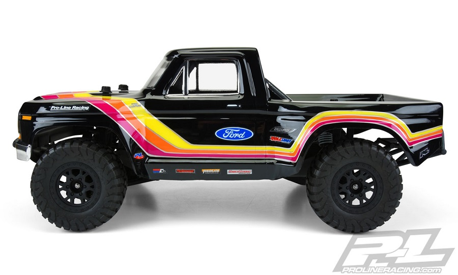Pro-Line 1979 For F-150 Race Truck Clear Body