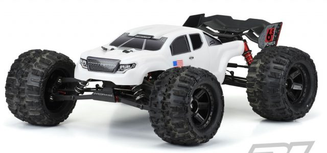 Pro-Line Pre-Cut Brute Bash Armor (White) Body For The ARRMA Kraton