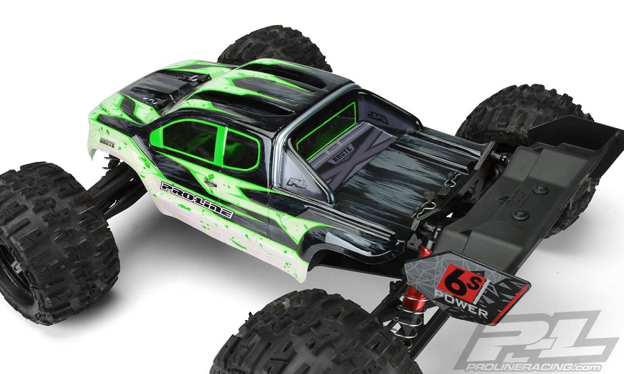 Pro-Line Brute Clear Body For The ARRMA Kraton