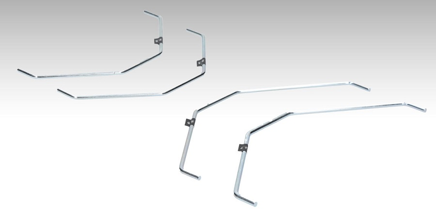 HB Racing Sway Bars For The D817V2, D817T, RGT8, & RGT8-E