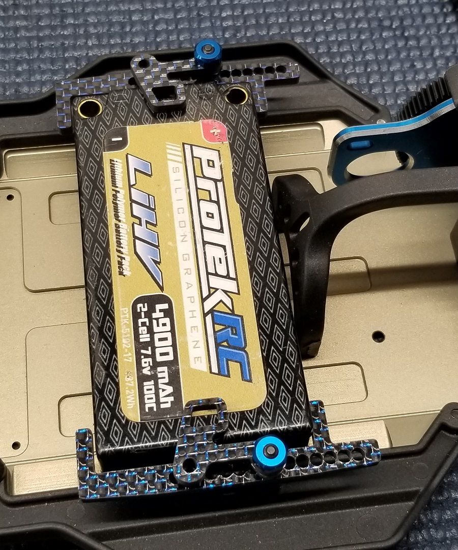 """Factory RC Team Associated """"6"""" Series Battery Retention System"""