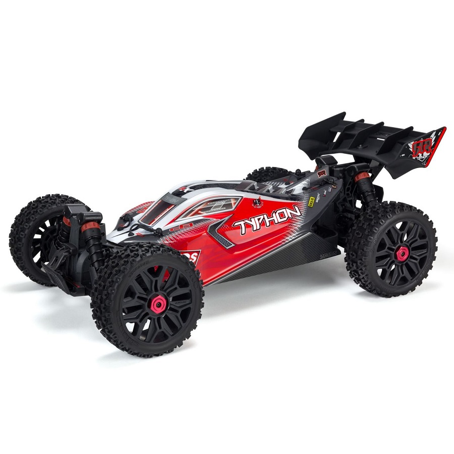 Www Rc: ARRMA 1/8 TYPHON 3S BLX 4x4 Brushless Buggy RTR [VIDEO