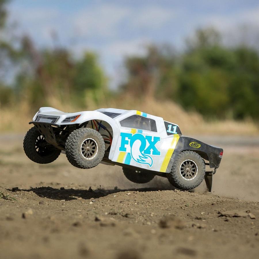Losi 1/10 TENACITY 4WD SCT Brushed RTR With Fox Racing Shocks Or Method Wheels Body