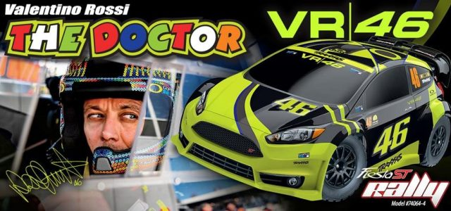 Traxxas Sponsors Rossi, Announces New Rally Cars