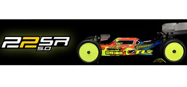 TLR 22 5.0 1/10 2WD Buggy SR (Spec Racer) Race Kit