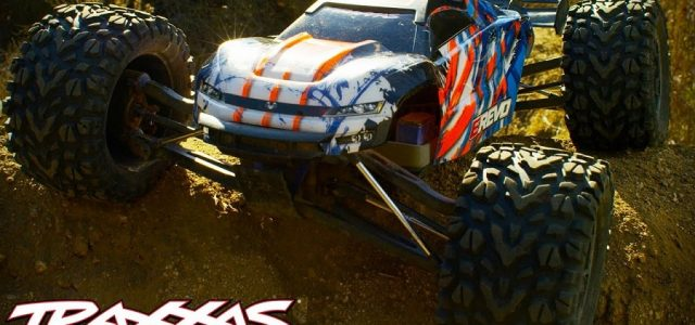 High Flying Dirt Jump Domination With The Traxxas E-Revo VXL [VIDEO]