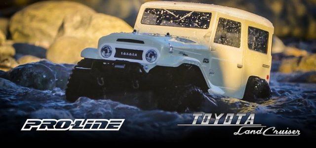 Pro-Line 1965 Toyota Land Cruiser FJ40 Body For The Traxxas TRX-4 [VIDEO]