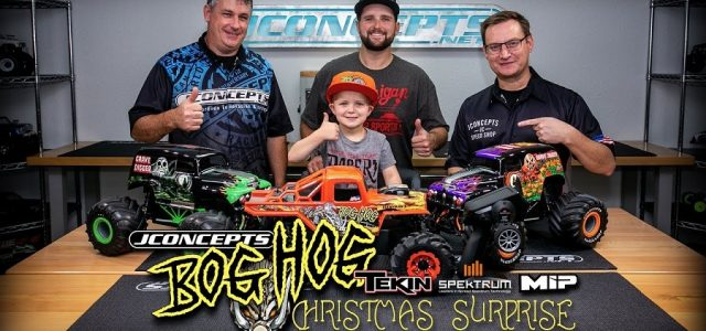 A Bog Hog Christmas Surprise [VIDEO]