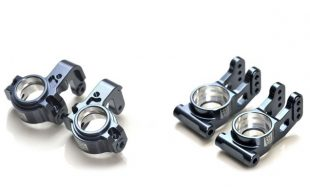 Exotek HD Steering Spindles & Rear Hubs For The Tekno EB48/NB48