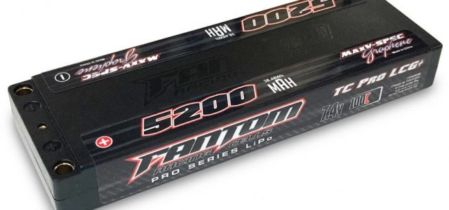 Fantom 5200mAh 100-160C 2S Super Low Profile MaxV-SPEC Silicon Graphene LiPo