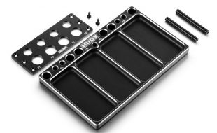 HUDY Aluminum Tray For On-Road Diff & Shocks
