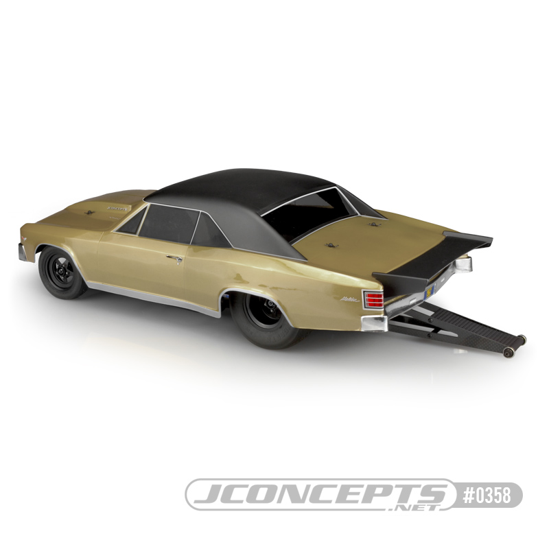 JConcepts 1967 Chevy Chevelle Clear Body