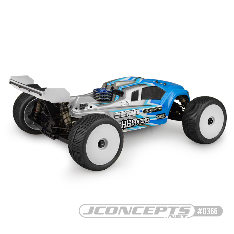 JConcepts Finnisher HB Racing D817T Clear Body