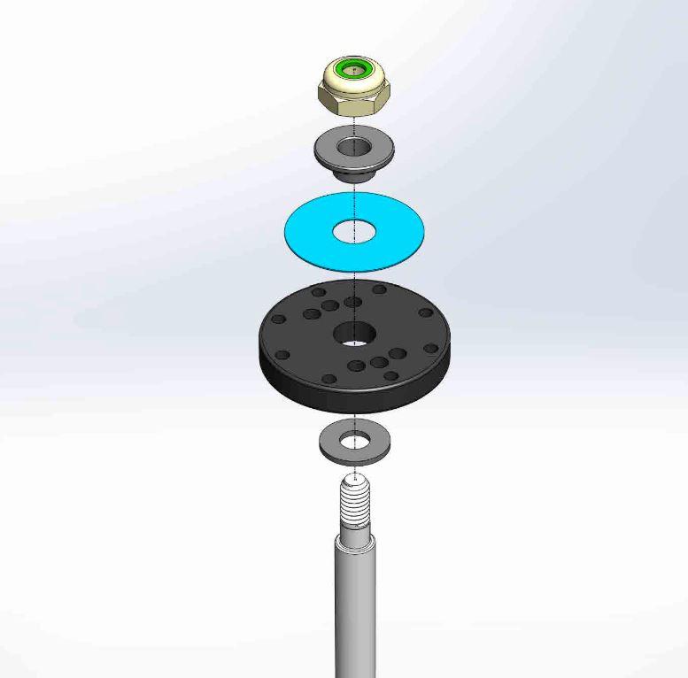 MIP Bypass1 Pistons For Mugen 1/8 Vehicles